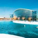 Hotel Apfelbaum, Therme Erding, VitalTherme Außen Winter