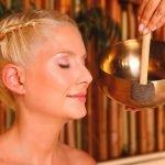 Hotel Apfelbaum, Therme Erding, VitalTherme Meditationssauna Klangschale